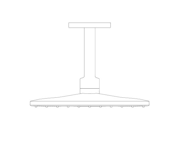 bimstore front image of the Rainshower - SmartActive 310 Cube - 26481000 from Grohe