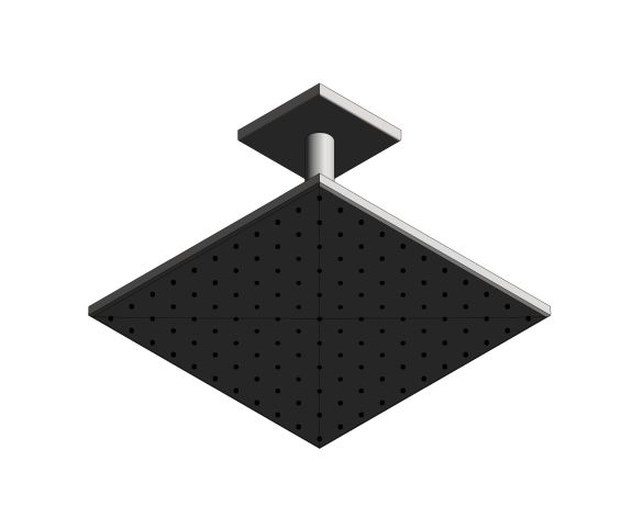 bimstore 3D image of the Rainshower - SmartActive 310 Cube - 26481000 from Grohe