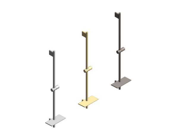 bimstore 3D all image of the Rainshower - SmartActive Shower Rail - 26603000 from Grohe