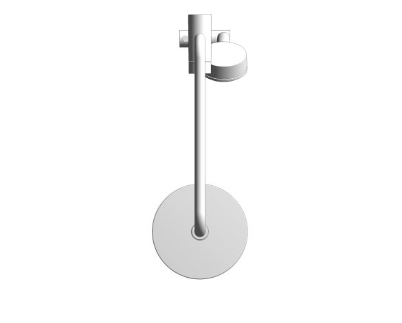 bimstore plan image of the RetroFit 200 Shower System - 26609000 from Grohe