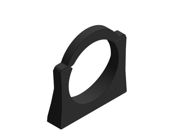 bimstore 3D image of the Support for Outlend Bend  - 42243000 from Grohe