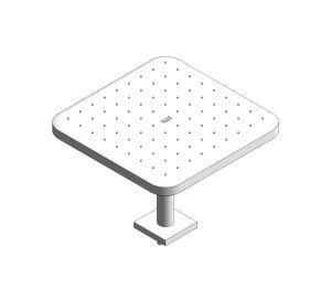 Product: Tempesta - 250 Cube Head Shower Set - 26683000
