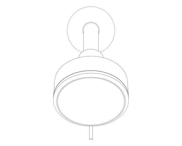 bimstore 3D image of the Tempesta Cosmopolitan 100 Head Shower Set 3 Sprays - 26090001 from Grohe