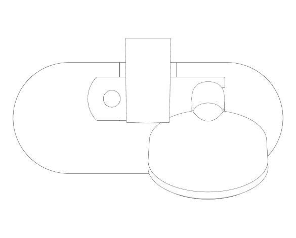bimstore plan image of the Tempesta Cosmopolitan 100 Shower Rail Set 3 Sprays - 27929002 from Grohe