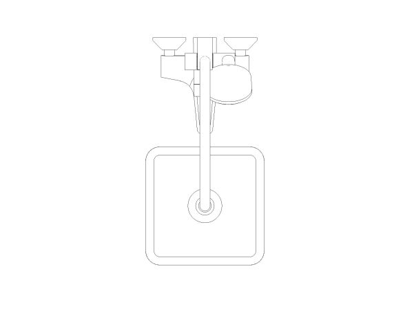 bimstore plan image of the Tempesta System - 250 Cube Shower System - 26693000 from Grohe