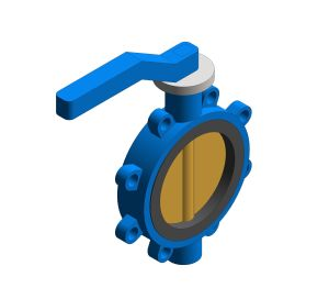 Product: Fig. 970W - Fully-lugged Butterfly Valve