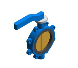 Product: Fig. 971 - Fully-lugged Butterfly Valve