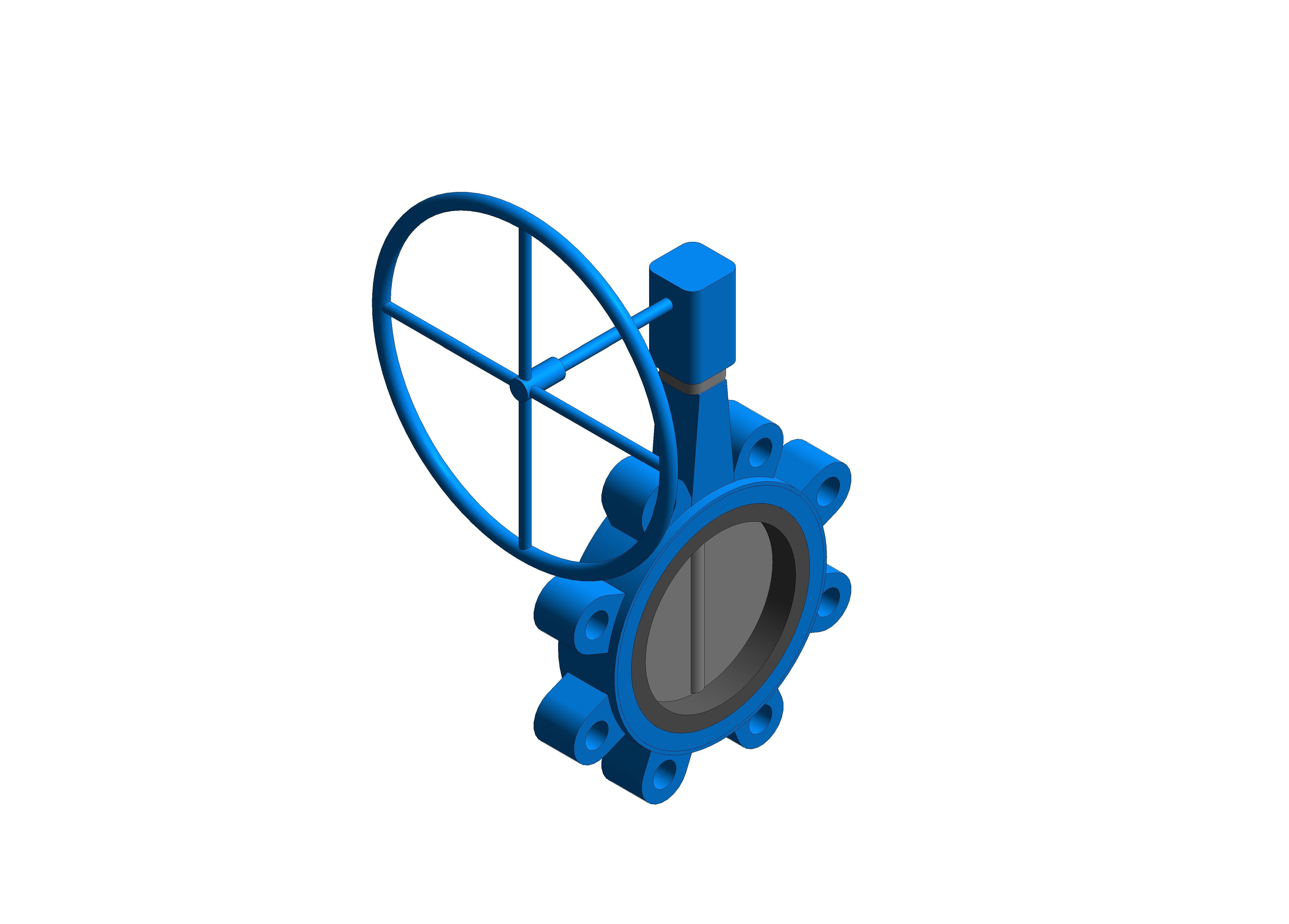 Image of Butterfly Valve Gearbox Operated - Fig 4925G