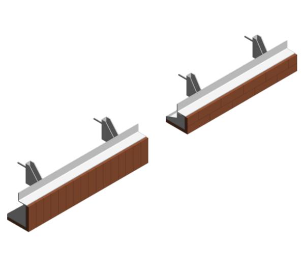 IG Masonry Support - Brick On Soffit System - ISO Range