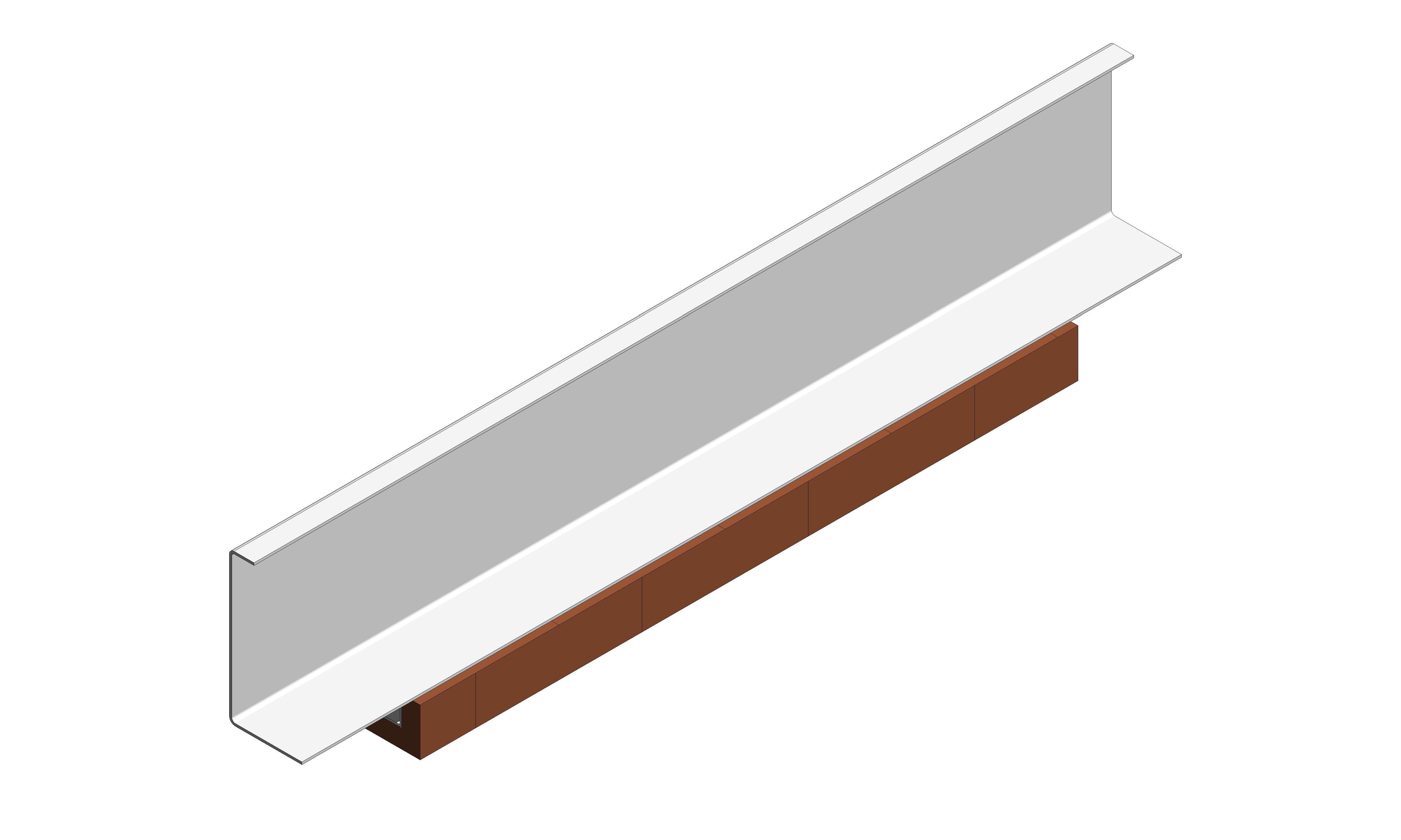 IG Masonry Support - Brick Slip Lintel - ISO 2