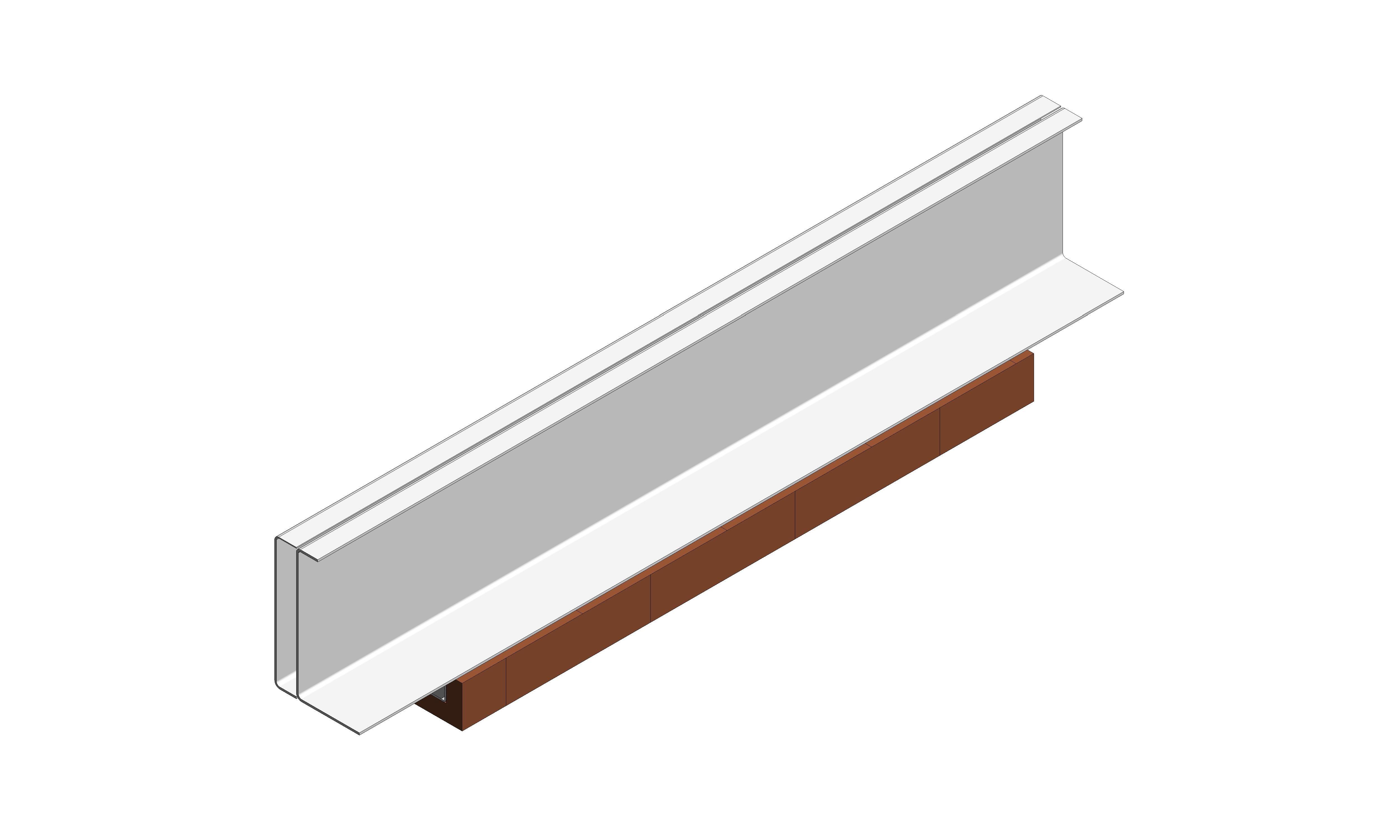 IG Masonry Support - Brick Slip Lintel - ISO 3