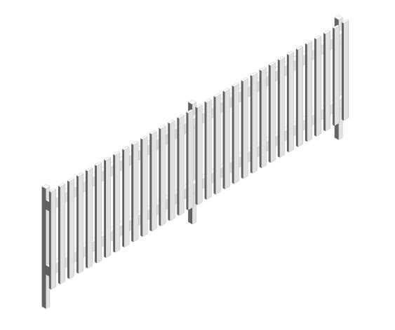 Fence - Picket