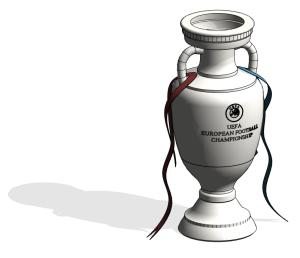 Product: UEFA European Football Championship Trophy