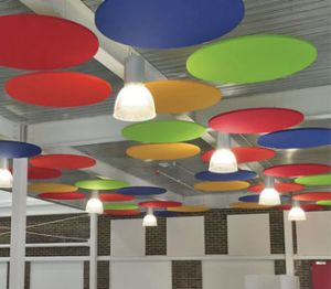 Product: Isocheck Absorba Ceiling & Wall Panels