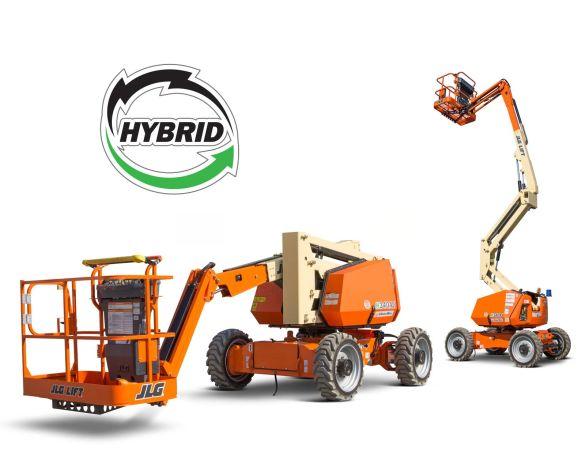 Product: H340AJ Hybrid - Articulating Boom Lift