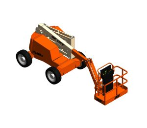 Product: H340AJ Hybrid - Articulating Boom Lift