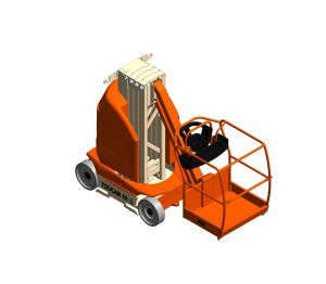 Product: T10E-L - Toucan® Mast Boom Lift