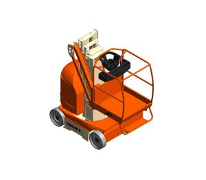 Product: T8E / T20E - Toucan® Mast Boom Lift