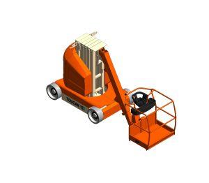 Product: Toucan T12E / T32E  - Toucan® Mast Boom Lift