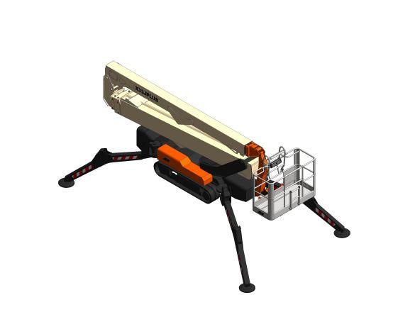 Product: X33JP / X1000AJ - Compact Crawler Boom