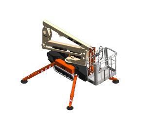 Product: X13JP / X370AJ / Light Lift 13.70 - New Compact Crawler Boom