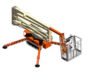 Product: X19J / X550AJ / Light Lift 19.65 - Compact Crawler Boom