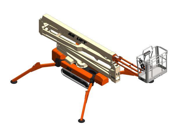 Product: X23J / X700AJ / Light Lift 23.12 - Compact Crawler Boom