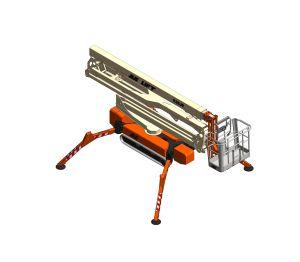 Product: X26JP / X770AJ / Light Lift 26.14 - New  Compact Crawler Boom