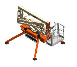 Product: X15JP / X430AJ - Compact Crawler Boom