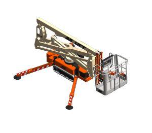 Product: X17JP / X500AJ / Light Lift 17.75  - Compact Crawler Boom