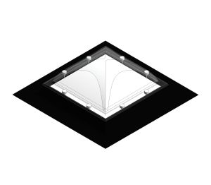 Flat Roof Dome