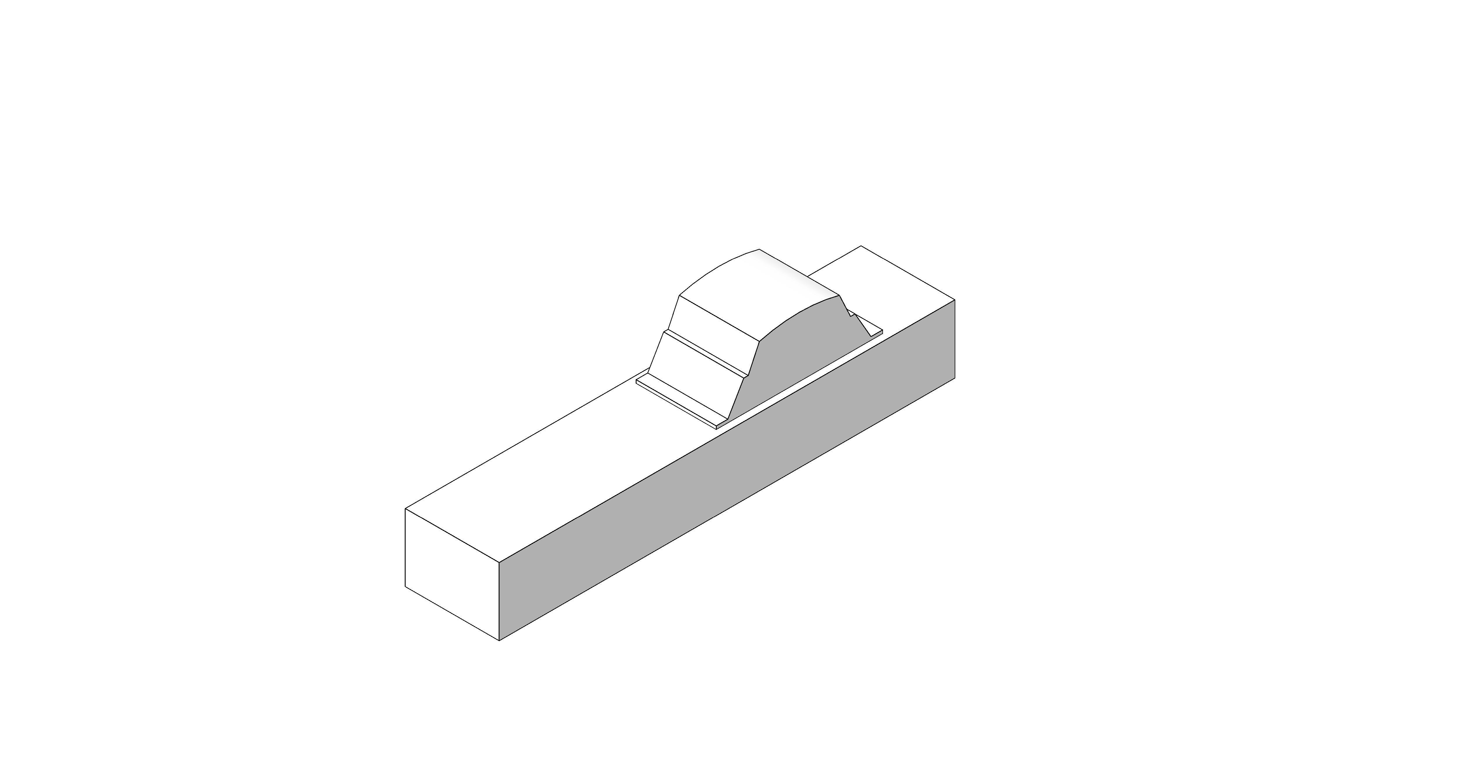 Product: Desk Module - 1 Way RCBO