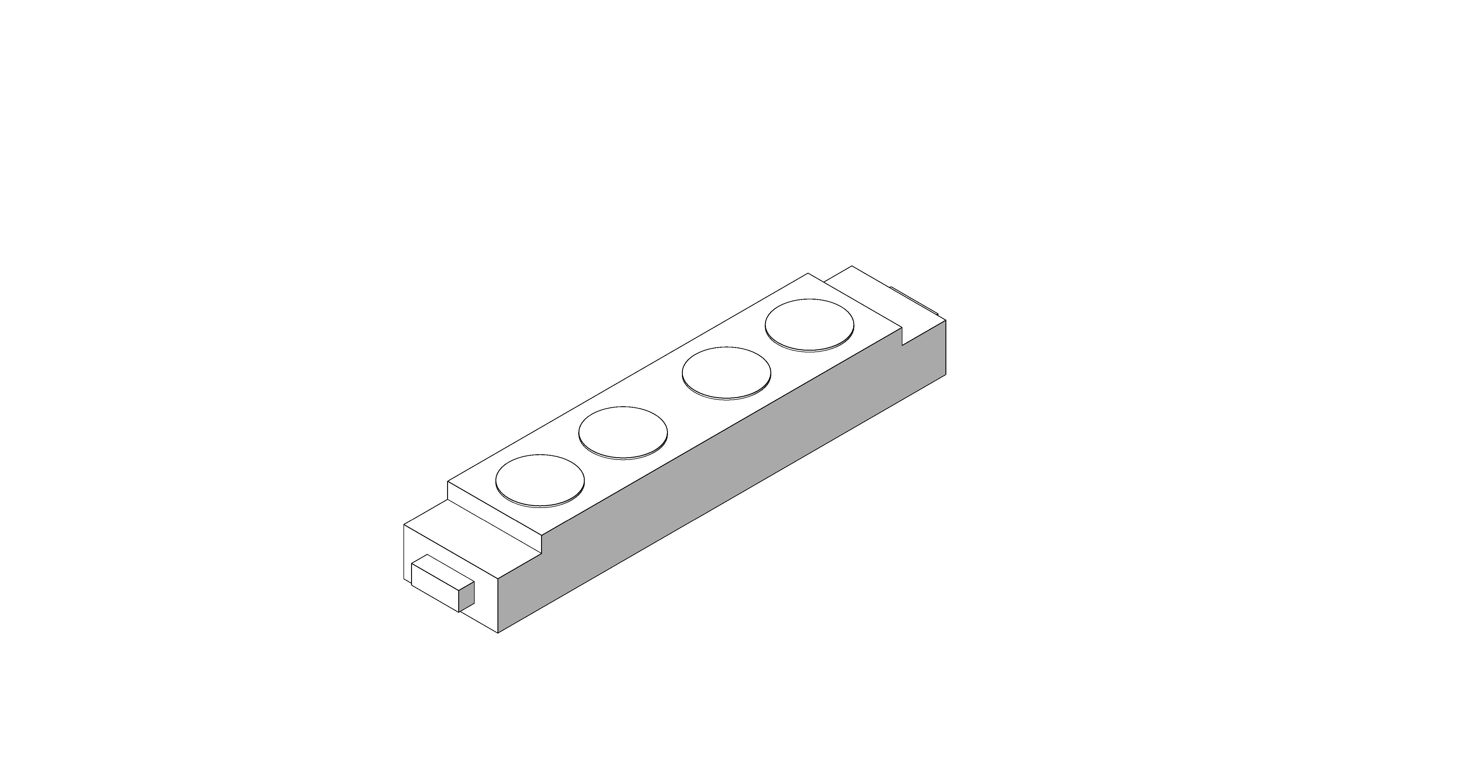 Product: Desk Module - 2 Gang - Power Data