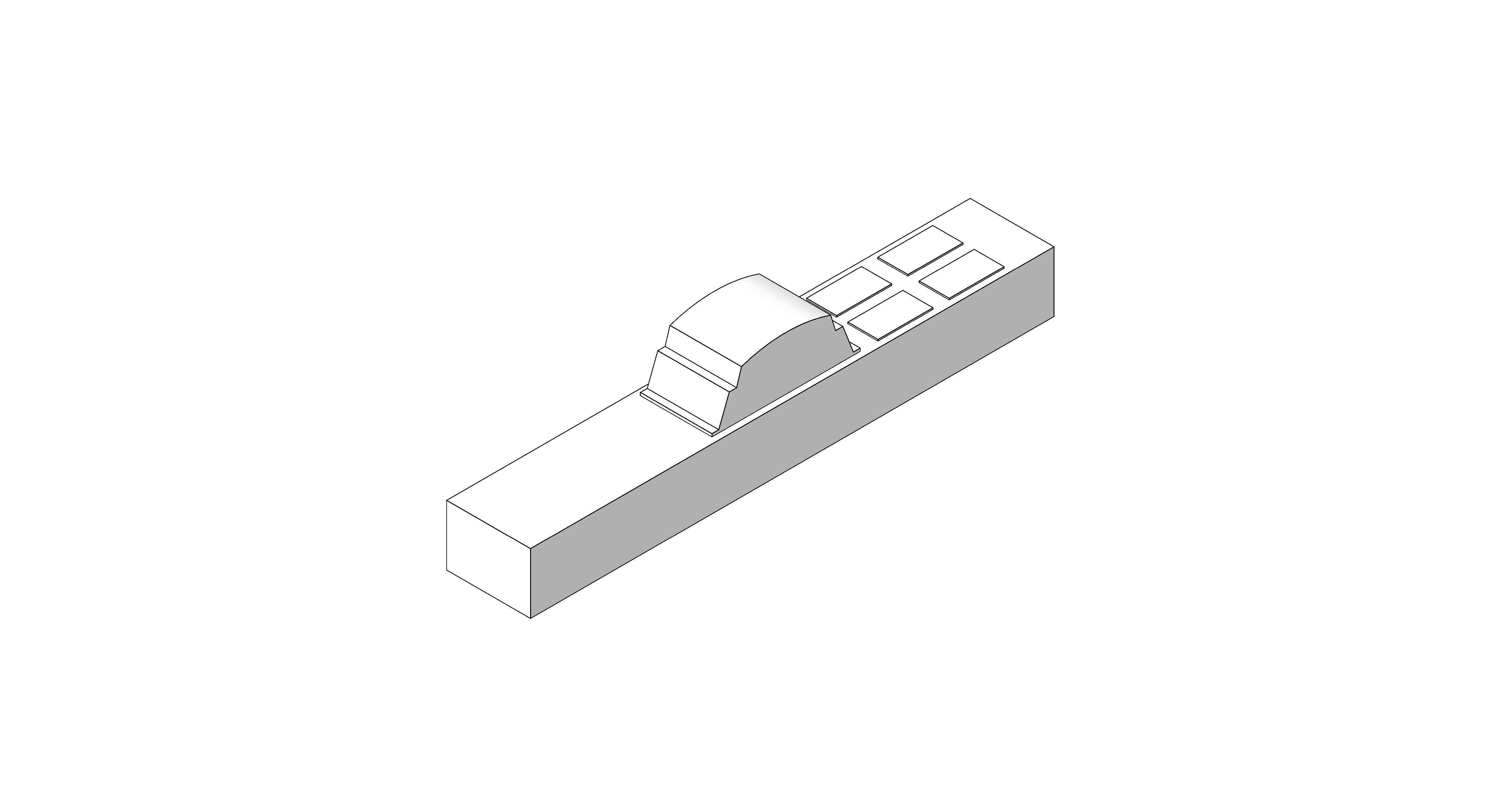 Product: Desk Module - 4 Way - RCBO