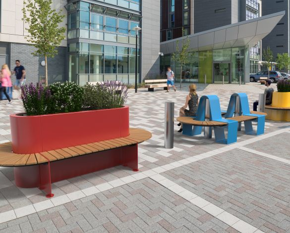 Product: RhinoGuard Kirkos Street Furniture