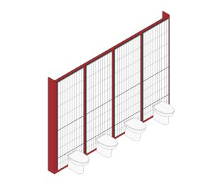 Maxwall Tile Backer Board Ducting System