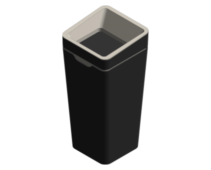 Method Recycling Bin Image no lid