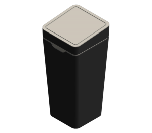 Recycling Bin with Touch Lid
