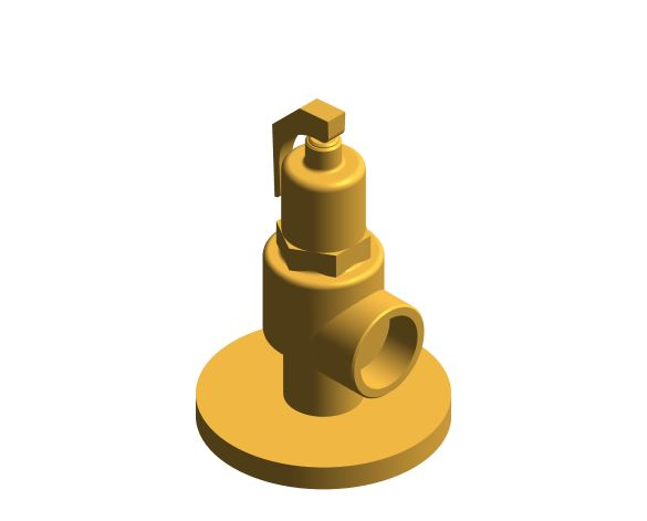 bimstore 3D image of the NABIC Fig 500F - High Lift Safety Valve