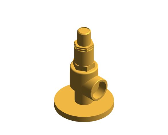 bimstore 3D image of the NABIC Fig 500LF - Pressure Relief Valve