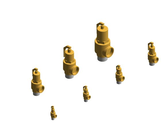 bimstore 3D all image of the NABIC Fig 500SS - High Lift Safety Valve