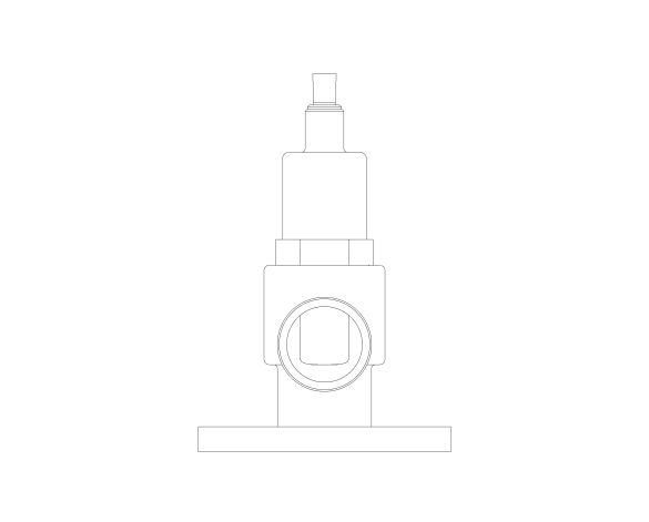 bimstore front image of the NABIC Fig 542F - Safety Relief Valve