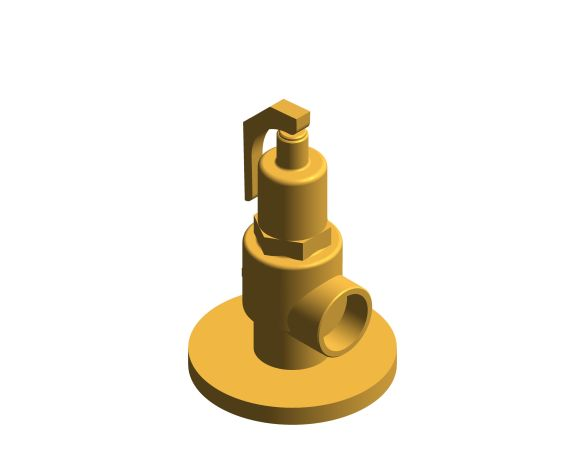 bimstore 3D image of the NABIC Fig 542F - Safety Relief Valve