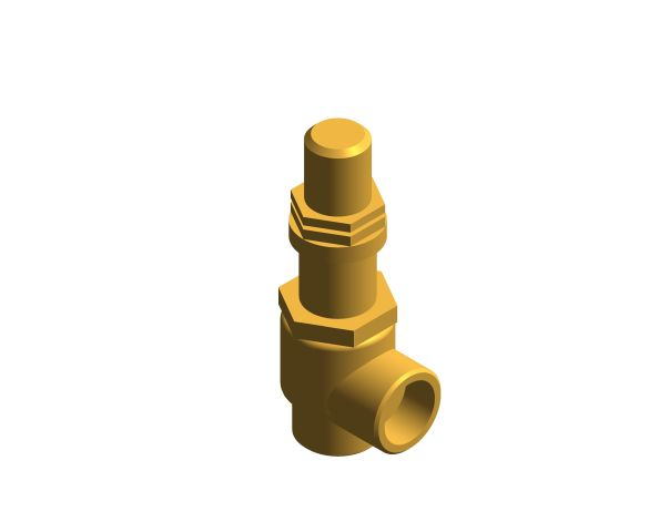 bimstore 3D image of the NABIC Fig 542L - Pressure Relief Valve