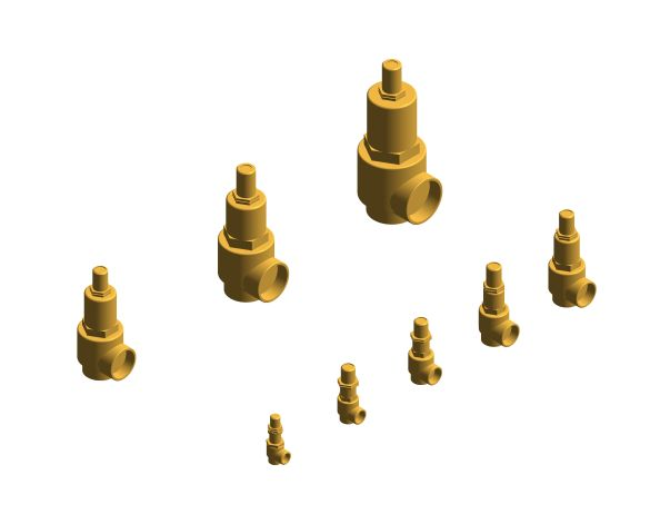 bimstore 3D all image of the NABIC Fig 542L - Pressure Relief Valve