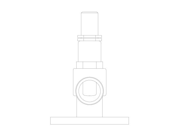 bimstore 3D image of the NABIC Fig 542LF - Pressure Relief Valve