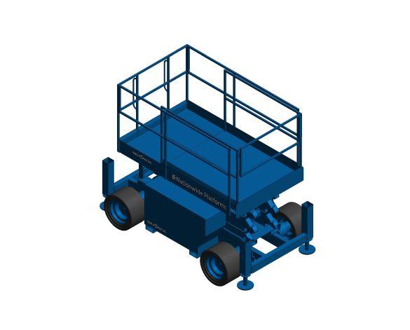 Product: Vertical Lifting Platform - 6832D
