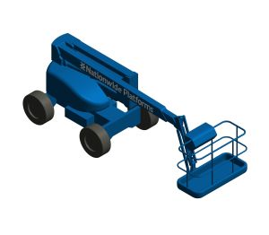 Product: Self Propelled Cherry Picker - HR15RT
