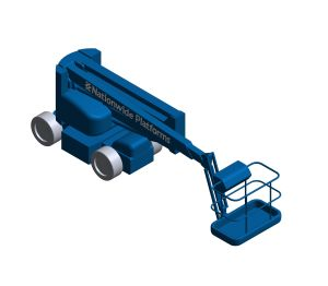 Product: Self Propelled Cherry Picker - HR17ND