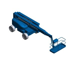 Product: Self Propelled Cherry Picker - HR28H